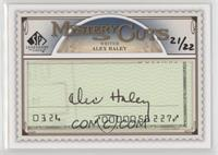 Alex Haley #/22