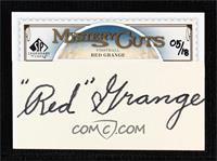 Red Grange #/18