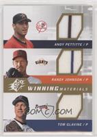 Andy Pettitte, Tom Glavine, Randy Johnson