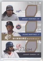 Manny Ramirez, Pedro Martinez, Johnny Damon