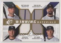 Todd Helton, Jayson Nix, Matt Holliday, Jeff Baker [EXtoNM]