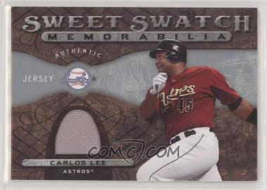 2009 Sweet Spot - Sweet Swatch Memorabilia #SS-CL - Carlos Lee