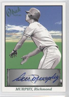 2009 TRISTAR Obak - Autographs - Green #A44 - Dale Murphy /25