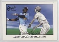Dale Murphy, Jason Heyward /50
