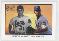 Tom Seaver, Brad Holt #/25