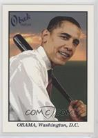 Barack Obama (Circle around Number)
