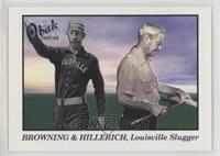 Pete Browning, Bud Hillerich