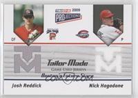 Nick Hagadone, Josh Reddick #/144