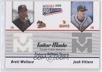 Brett Wallace, Josh Vitters #/144