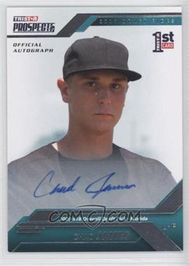 2009 TRISTAR Prospects Plus - [Base] - Autographs [Autographed] #14 - Chad James /199
