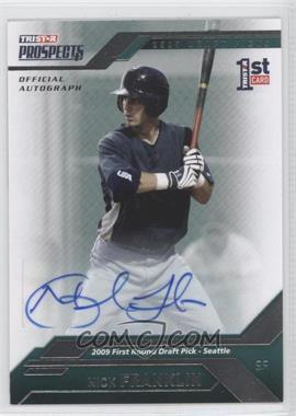 2009 TRISTAR Prospects Plus - [Base] - Autographs [Autographed] #22 - Nick Franklin /199