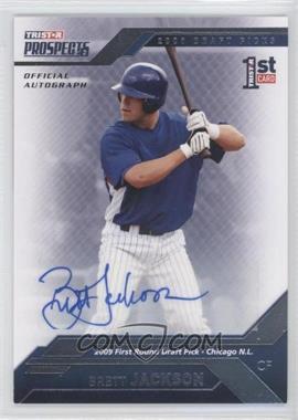2009 TRISTAR Prospects Plus - [Base] - Autographs [Autographed] #25 - Brett Jackson /199