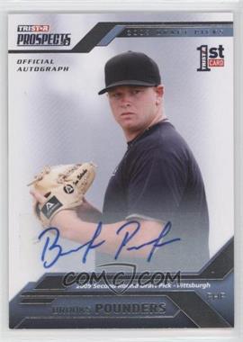 2009 TRISTAR Prospects Plus - [Base] - Autographs [Autographed] #42 - Brooks Pounders /199