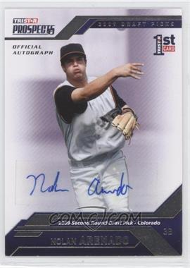 2009 TRISTAR Prospects Plus - [Base] - Autographs [Autographed] #47 - Nolan Arenado /199