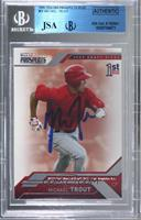 Mike Trout [JSA Certified Encased by BGS]