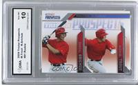 Randal Grichuk, Mike Trout [ENCASED]