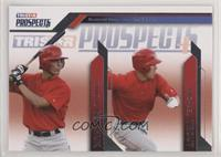 Randal Grichuk, Mike Trout [EX to NM]