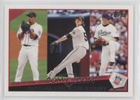 2008 National League ERA Leaders (Johan Santana, Tim Lincecum, Jake Peavey)