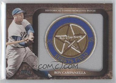 2009 Topps - Legends of the Game Manufactured Commemorative Patch #LPR-10 - Roy Campanella