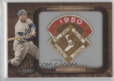 2009 Topps - Legends of the Game Manufactured Commemorative Patch #LPR-112 - Roy Campanella