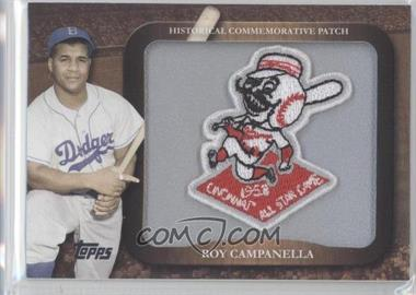 2009 Topps - Legends of the Game Manufactured Commemorative Patch #LPR-14 - Roy Campanella