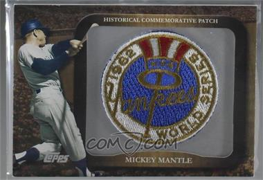 2009 Topps - Legends of the Game Manufactured Commemorative Patch #LPR-28 - Mickey Mantle