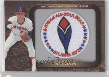 2009 Topps - Legends of the Game Manufactured Commemorative Patch #LPR-35 - Nolan Ryan