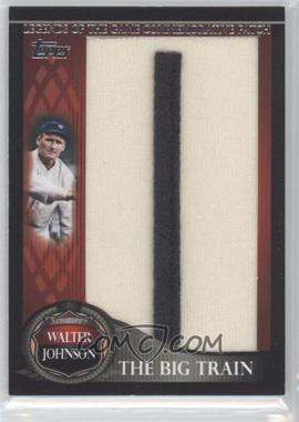 2009 Topps - Legends of the Game Manufactured Letter Patch Series 1 #LGCP-WJ - Walter Johnson /50
