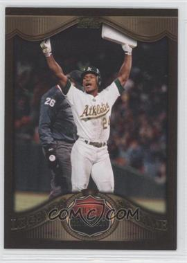 2009 Topps - Target Legends of the Game - Gold #LLG-21 - Rickey Henderson
