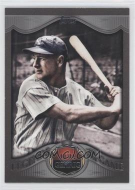 2009 Topps - Wal-Mart Legends of the Game - Platinum #LLP-15 - Lou Gehrig