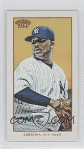 2009 Topps 206 - [Base] - Mini Old Mill #231 - CC Sabathia