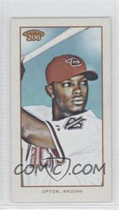 2009 Topps 206 - [Base] - Mini Polar Bear #109 - Justin Upton