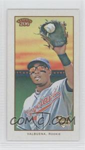 2009 Topps 206 - [Base] - Mini Polar Bear #164 - Luis Valbuena