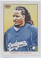 Manny Ramirez (no card number: Blue Jersey)
