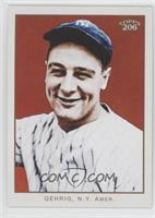 Lou Gehrig (no card number; Portrait)