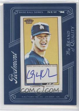 2009 Topps 206 - Framed Mini Autographs #FMA-22 - Clayton Kershaw