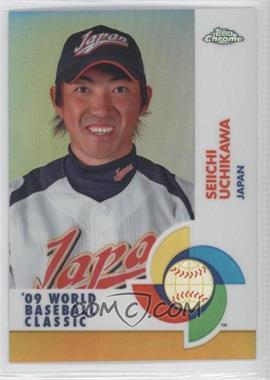 2009 Topps Chrome - World Baseball Classic - Gold Refractor #W66 - Seiichi Uchikawa /50