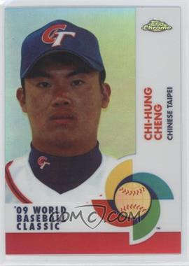 2009 Topps Chrome - World Baseball Classic - Red Refractor #W90 - Chi-Hung Cheng /25
