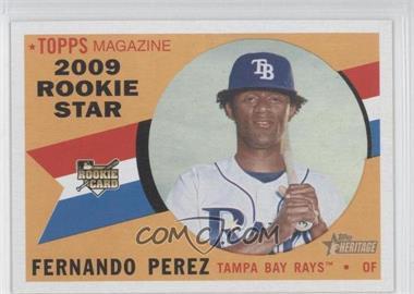 2009 Topps Heritage - [Base] #120 - Fernando Perez