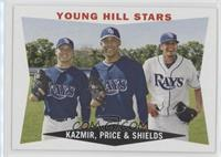 Young Hill Stars (Scott Kazmir, David Price, James Shields)