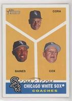 Joey Cora, Harold Baines, Jeff Cox