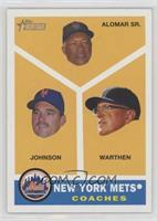 New York Mets Coaches (Sandy Alomar Sr., Howard Johnson, Dan Warthen)