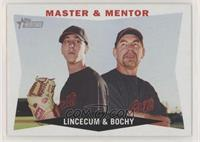 Master & Mentor (Tim Lincecum, Bruce Bochy)