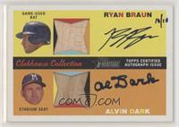 Ryan Braun, Alvin Dark #/10