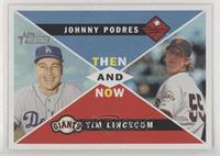 Tim Lincecum, Johnny Podres