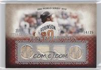 Frank Robinson [Noted] #/25