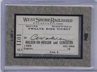 West Shore Railroad Ticket #/1