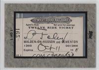West Shore Railroad Ticket /1