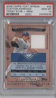 Clayton Kershaw /79 [PSA 10 GEM MT]