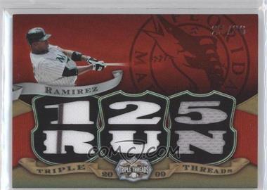 2009 Topps Triple Threads - Relics #TTR-98 - Hanley Ramirez /36
